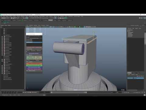 DcBoolManager - Maya script - Boolean modeling workflow