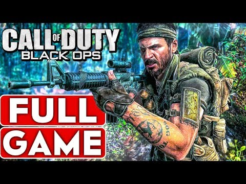 CALL OF DUTY BLACK OPS Campaign Gameplay Walkthrough Part 1 FULL GAME [Xbox One] - No Commentary