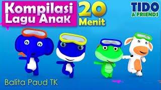 Kompilasi Lagu Anak Paud TK - Kumpulan Lagu Anak Anak 20 Menit -Tidofriends - Lengkap Lirik Lagu