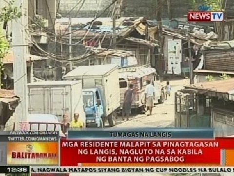 BT: Mga residente malapit sa pinagtagasan ng langis, nagluto na sa kabila ng banta ng pagsabog