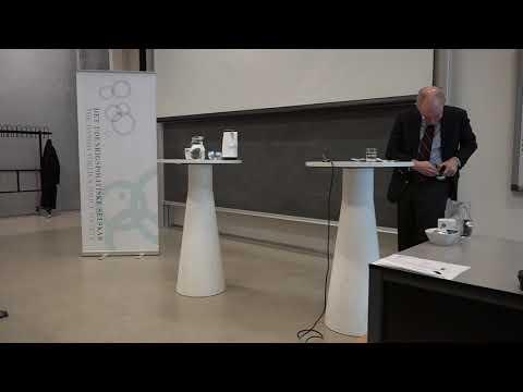 Professor John J. Mearsheimer speaking at the University of Copenhagen, April 13, 2018.