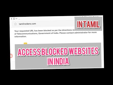 Tamil, How To Access Blocked Website Tamilrasigan Tamilrockers.com Watch Tamil Movie Download Online