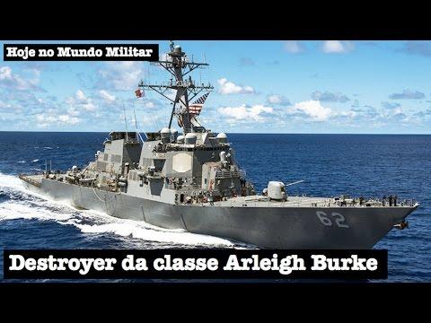 Destroyer da classe Arleigh Burke