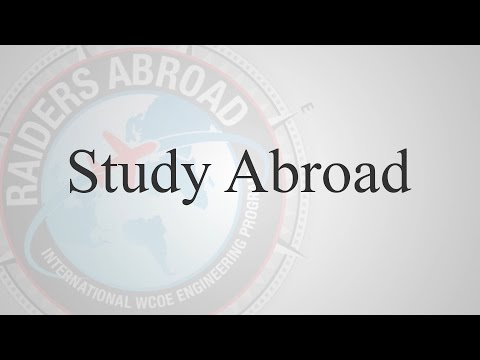 International Engineering Programs - Raiders Abroad