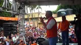 Otto Perez Molina visitó el municipio de Barillas, Huehuetenango