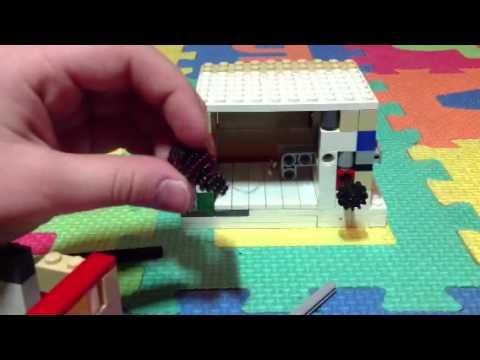 Лего сейф с ключом 2.0