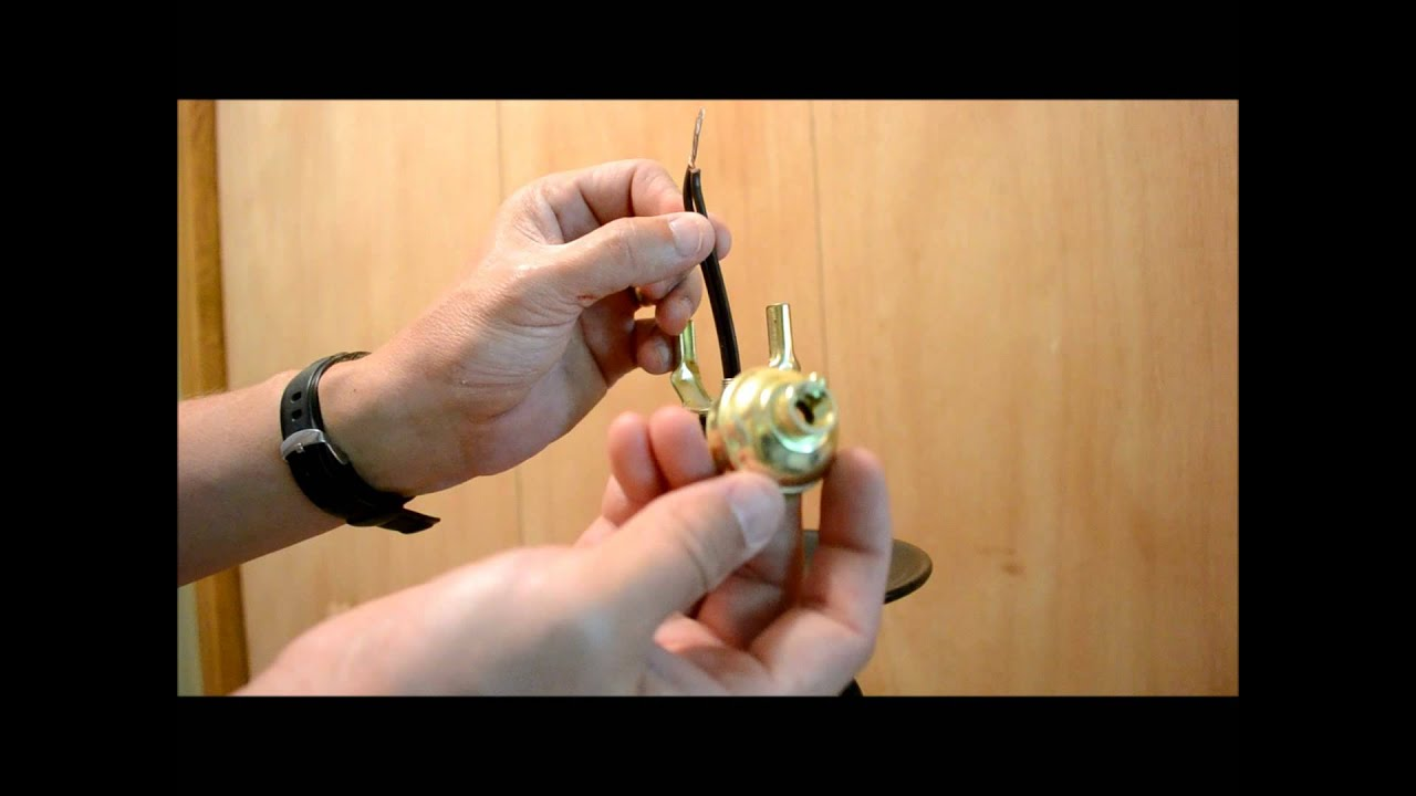 How To Replace a 13 Way Lamp Switch