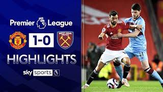 Dawson own goal sends United back into second! | Man Utd 1-0 West Ham | EPL Highlights