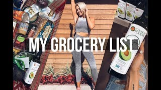Healthy Grocery Haul