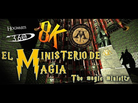 El ministerio de magia 360 Harry Potter