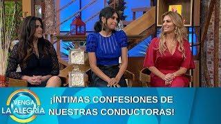 ¡Íntimas confesiones de las conductoras! | Programa del 08 de agosto de 2019 | Venga La Alegría