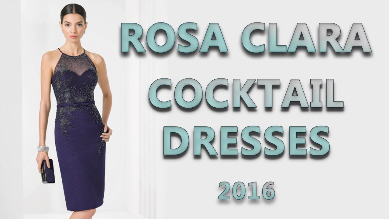 Cocktail dresses 2016 Rosa Clara - YouTube