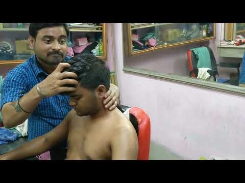 Body twisting Massage for spine cracking and pain relief | Sleeping Tingles by Indian barber | ASMR
