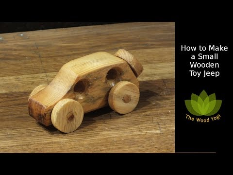 How to Make a Toy Wooden Jeep - Woodworking Project