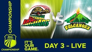 Guyana v Windwards - Day 3 | West Indies Championship | Saturday 12th January 2019