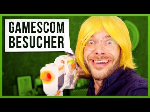 10 Arten von Gamescom Besuchern