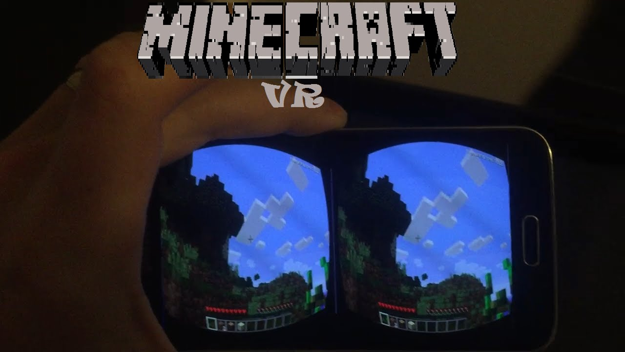 how to play minecraft in VR on your phone FREE works with all pc games
