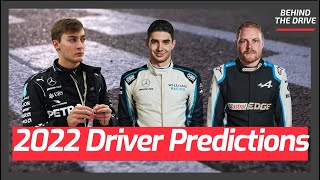 My 2022 F1 Driver Predictions
