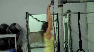 Susanna - 1st unassisted pull up