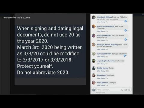 Taylor J - We Should Use The Full Year 2020 When Signing Legal Documents