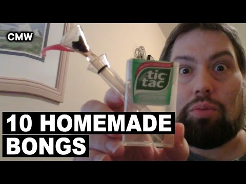 Top 10 Homemade Weed Bongs