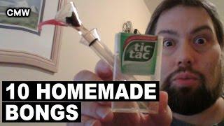 Top 10 Homemade Weed Bongs