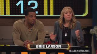 Megyn Price & Russell Hornsby 20K WIN | Celebrity Name Game