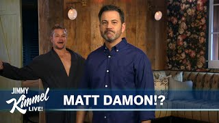 An Unwanted Visit from the Demon Matt Damon