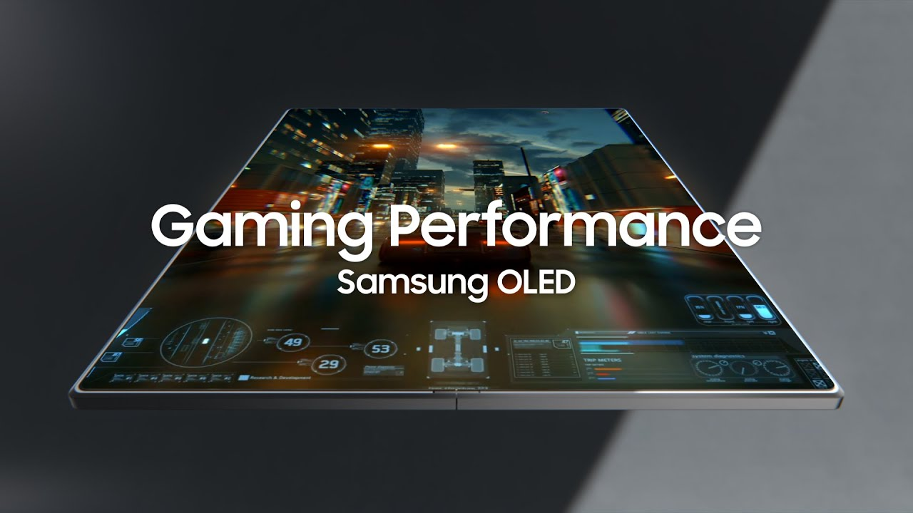 Samsung OLED :  Optimal display for gaming performance