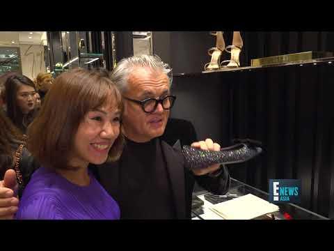 Giuseppe Zanotti in Singapore | E! News Asia | E! Entertainment Asia