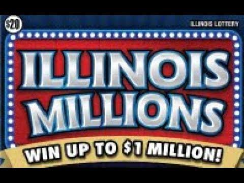 Illinois Millions Win All State Of Illinois Symbol!!!