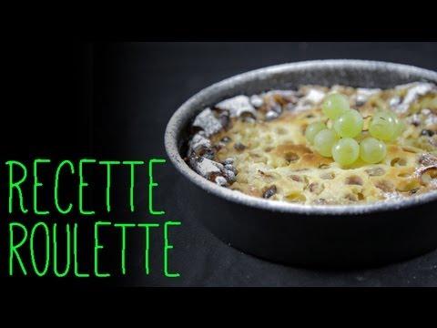 Recette : Clafoutis au raisin muscat