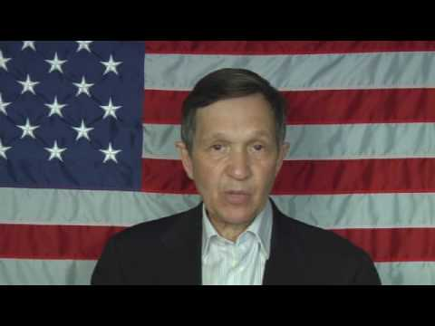 Dennis Kucinich, Afghanistan, the Environment, Control of the Political Process