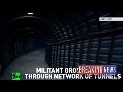 [Breaking News]City beneath Douma: Underground tunnel network used by rebels revealed