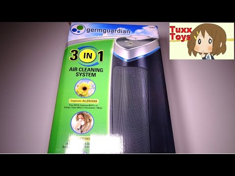 GermGuardian AC4825, 3-in-1 Air Cleaning System with True HEPA UNBOXING and first thoughts.