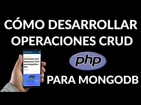Cómo Desarrollar Operaciones CRUD para MongoDB en PHP