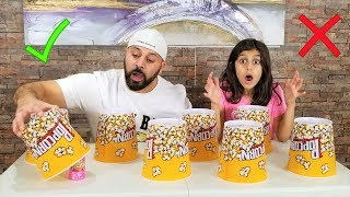 Don't Choose the wrong Popcorn Slime challenge!!