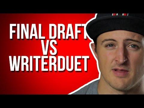 Final Draft vs WriterDuet