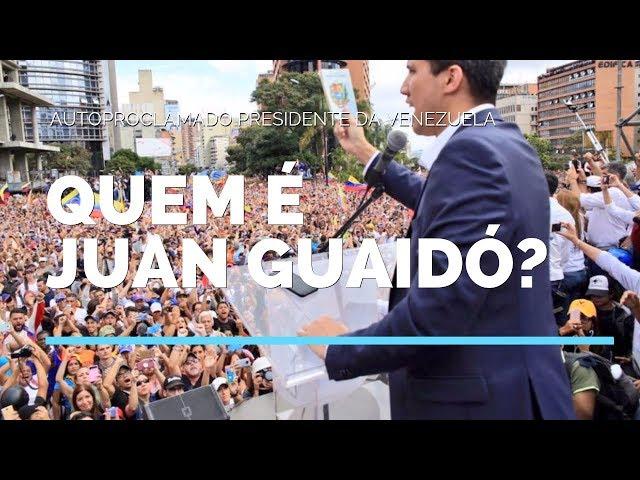 Quem é Juan Guaidó, o autoproclamado presidente da Venezuela?