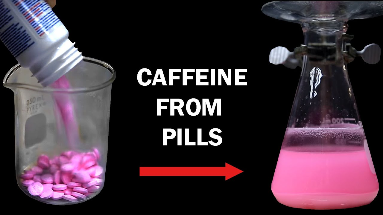 How to extract Caffeine from Caffeine Pills