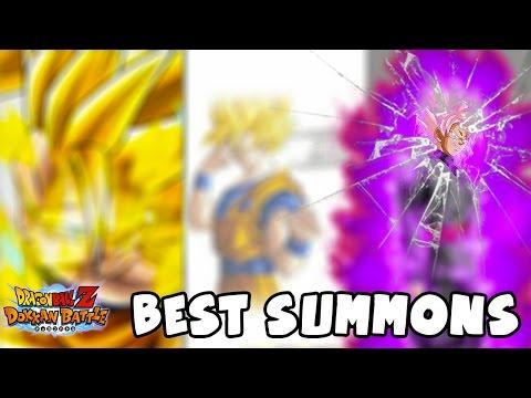 BEST SUMMONS OF 2016 | Dragon Ball Z Dokkan Battle