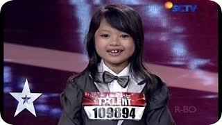 This 7 Year Old Girl Act Is So EXTREME! - Azira Asmara Putri - Audition 2 - Indonesia's Got Talent
