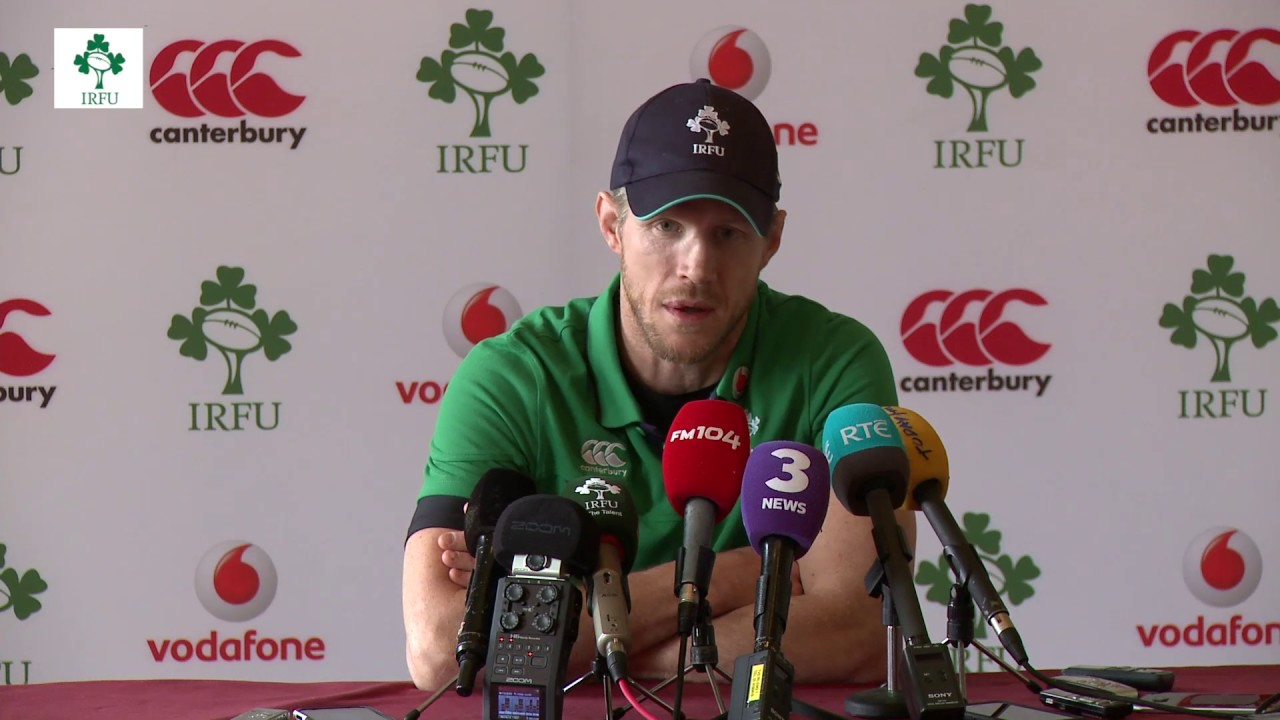 Irish Rugby TV: Simon Easterby Previews Ireland's Clash ...