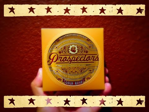 Prospectors Gold Rush Pomade Review