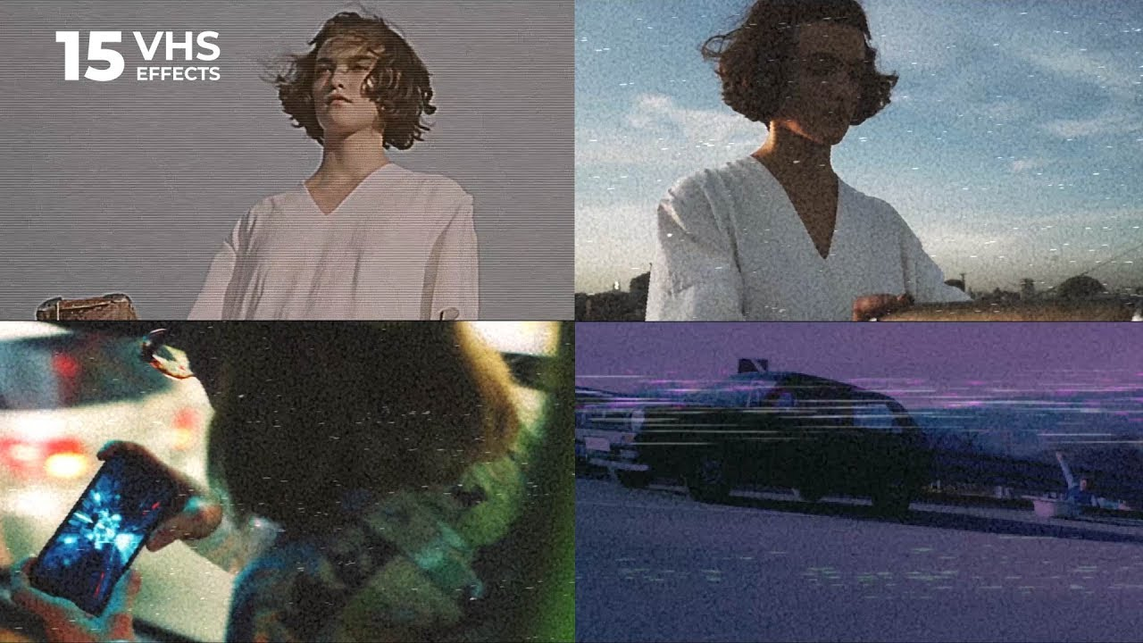 10 VHS video look effects for Premiere Pro