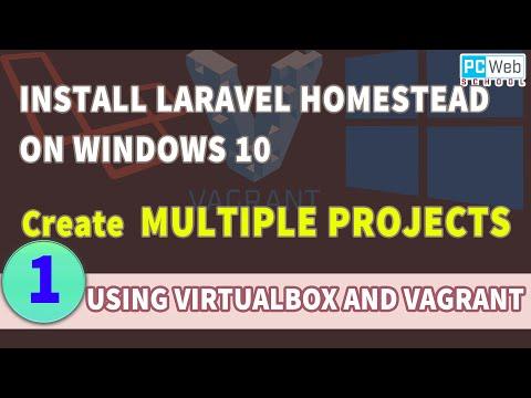 Create Multiple Laravel Projects Using Homestead In Windows 10   Tutorial 1