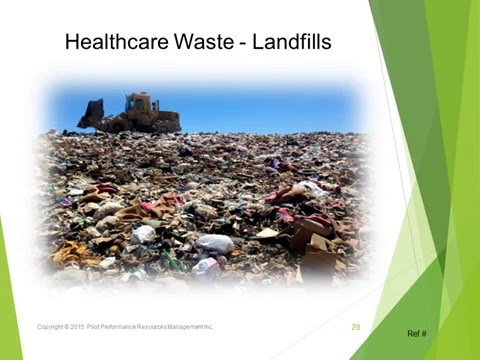Healthcare Waste Diversion from Landfill & Total Destruction