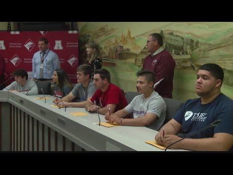 Altoona Area High School signings Wednesday