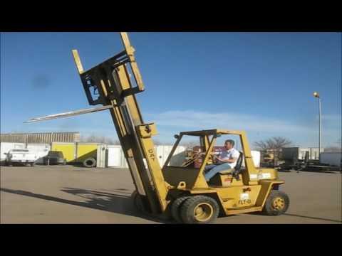 Caterpillar V120 rough terrain forklift for sale | no-reserve Internet  auction March 2, 2017