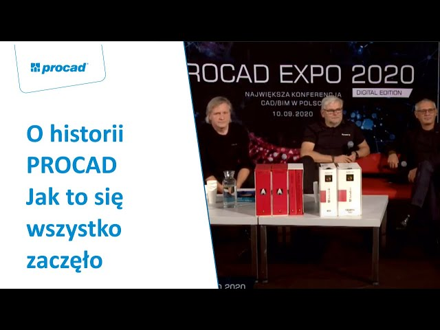 O historii PROCAD. Jak to się wszystko zaczęło | PROCAD EXPO Historia